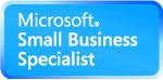 logo Microsoft Small business partner
