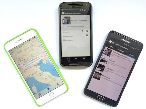 Sviluppo di App per iPhone e Android